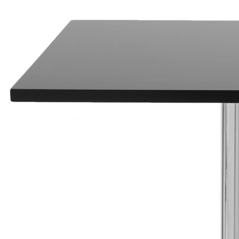 Soho Square Dining Table Black