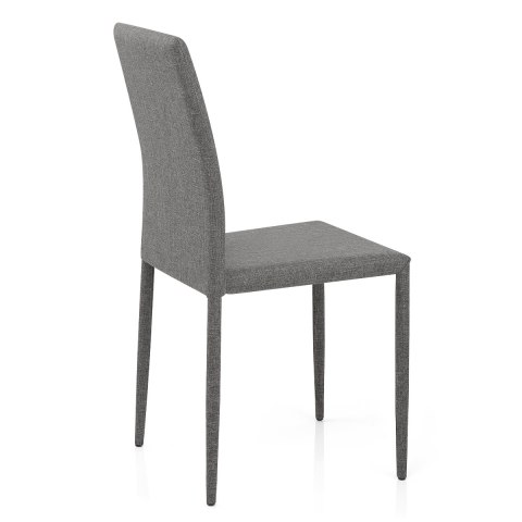 Joshua Dining Chair Light Grey Fabric