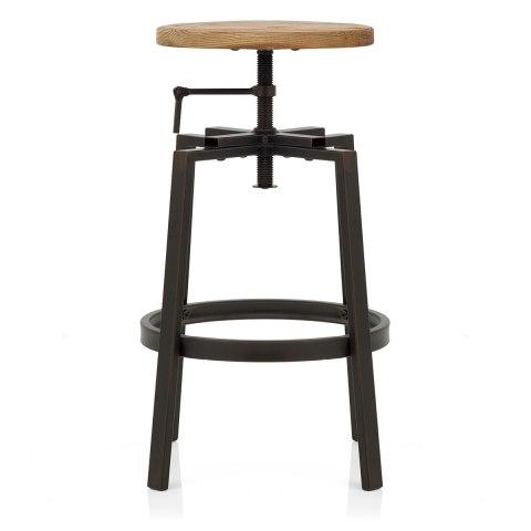 industrial turner stool light wood atlantic shopping. Black Bedroom Furniture Sets. Home Design Ideas