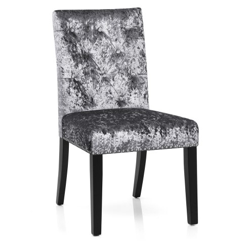 Barrington Dining Chair Grey Velvet