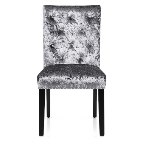 Barrington Dining Chair Grey Velvet ...