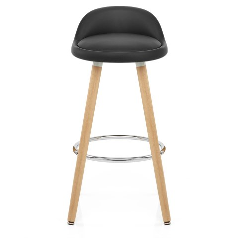 Jive Wooden Stool Black