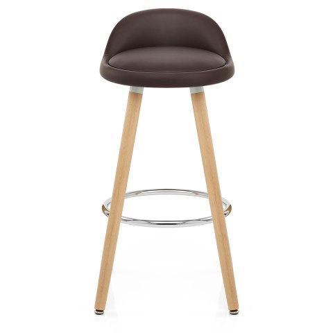 jive wooden stool brown atlantic shopping