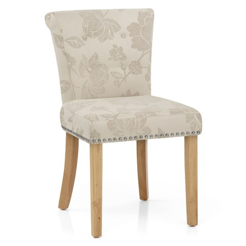 Calcot Chair Cream Flowers