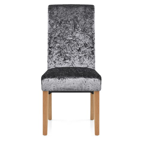 Claremont Dining Chair Grey Velvet
