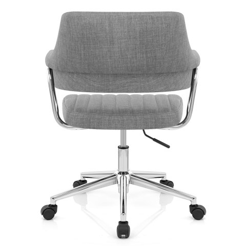 Skyline Office Chair Grey Fabric Atlantic Shopping
