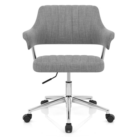 Skyline Office Chair Grey Fabric Atlantic Shopping - Grey office chair