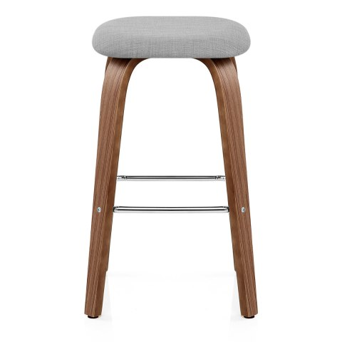 Stockholm Bar Stool Grey