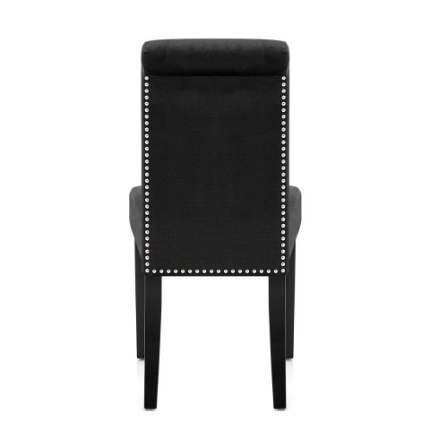 Moreton Dining Chair Black Velvet