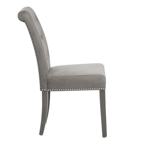 dining chair grey velvet chairs canada room ireland red uk