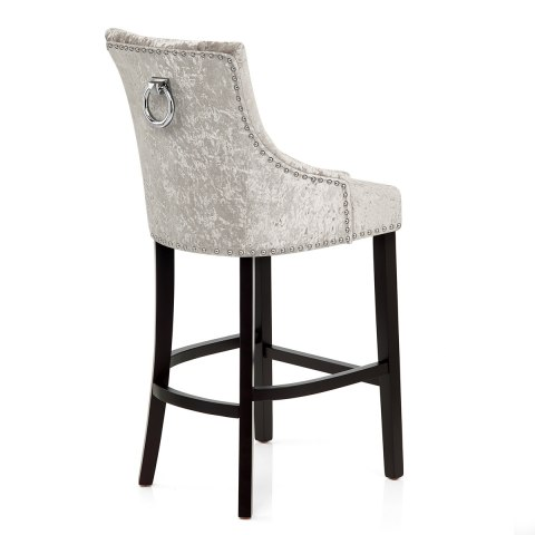 Ascot Bar Stool Mink Velvet Atlantic Shopping