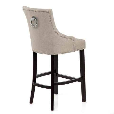 Ascot Bar Stool Tweed Fabric Atlantic Shopping