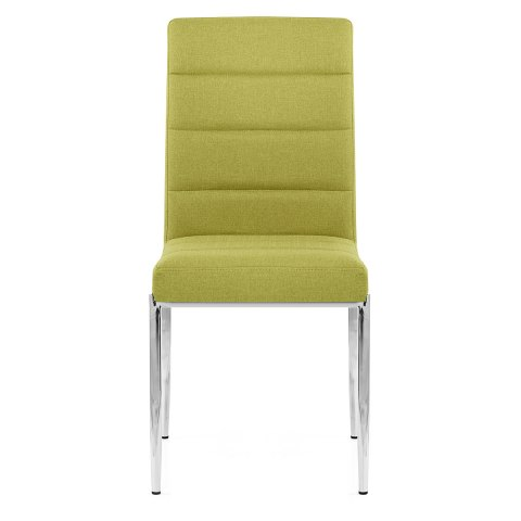 Taurus Dining Chair Green Fabric