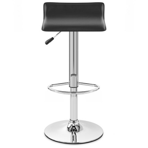 Mars Black Bar Stool