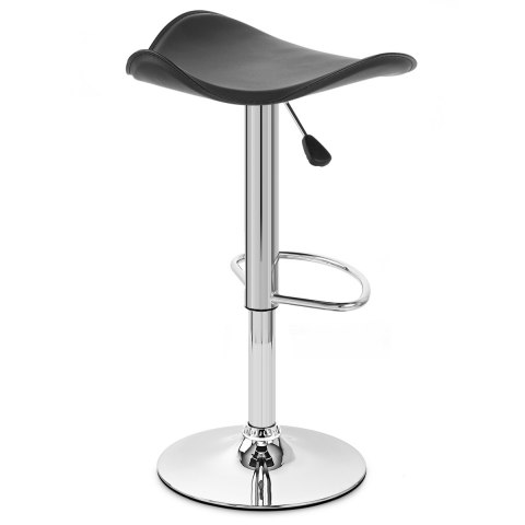 Jupiter Black Bar Stool