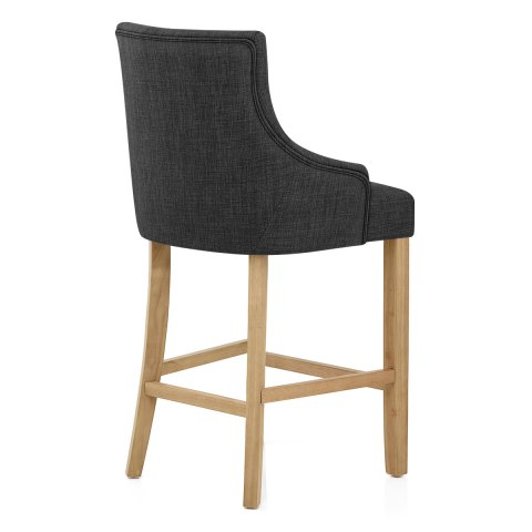 Verdi Bar Stool Charcoal