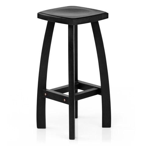 oslo bar stool black atlantic shopping. Black Bedroom Furniture Sets. Home Design Ideas