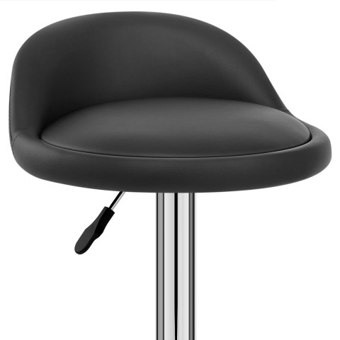 Lulu Bar Stool Black