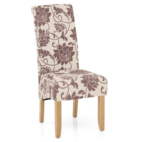 Mia Dining Chair Brown