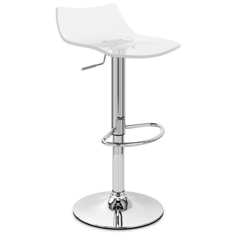 Crystal Bar Stool Clear