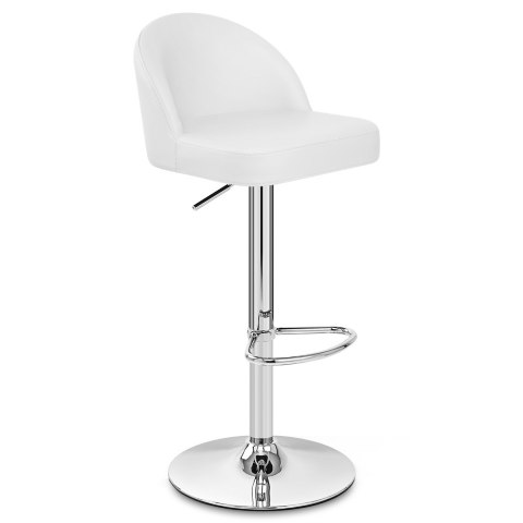 Mimi Chrome Stool White