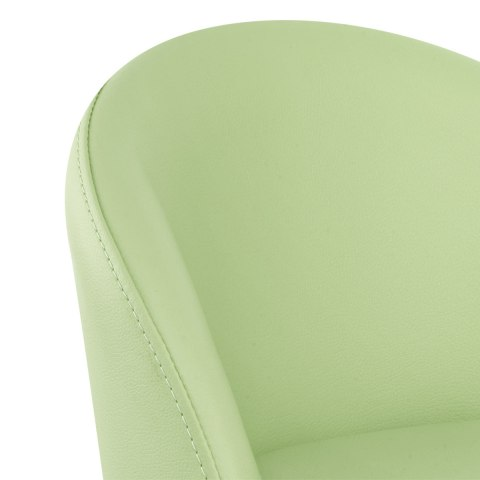 Mimi Chrome Stool Green