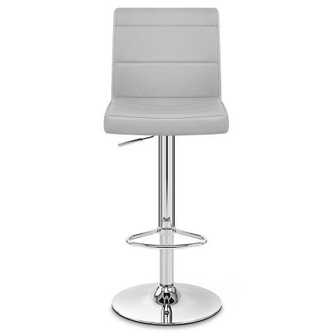 Chrome breakfast bar stool grey atlantic shopping for White breakfast bar stools