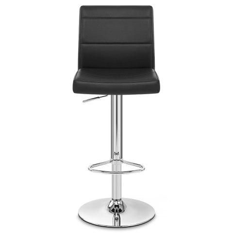 chrome breakfast bar stool black atlantic shopping. Black Bedroom Furniture Sets. Home Design Ideas