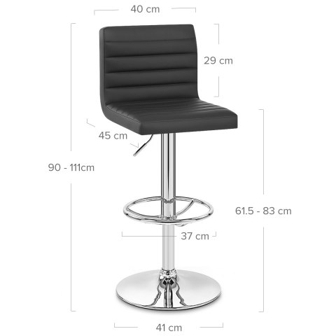 Mint Bar Stool Black