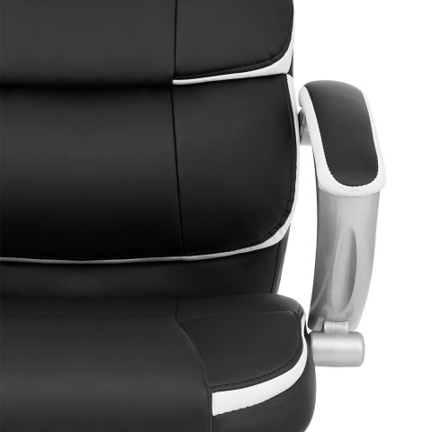 Cadiz Luxury Office Chair Black & White