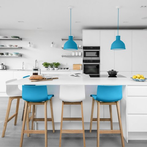 White Kitchen Stools Uk