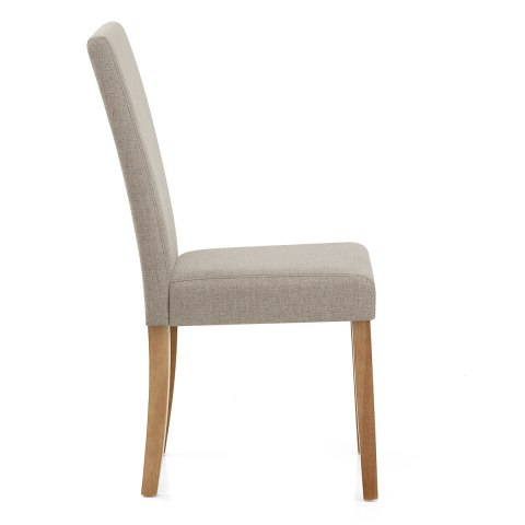 Marvelous Columbus Oak Dining Chair Tweed Cjindustries Chair Design For Home Cjindustriesco