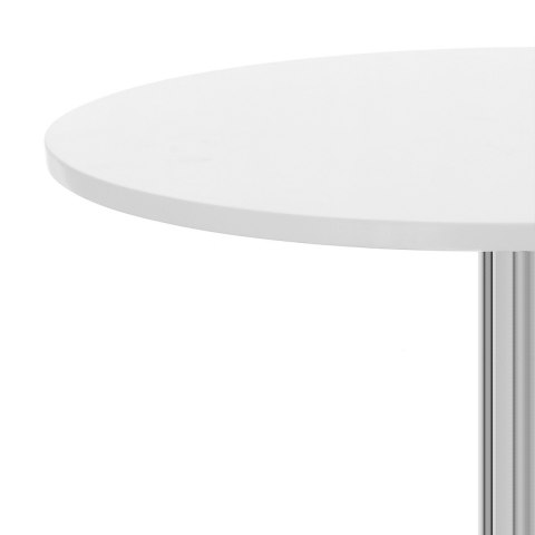 Soho Round Dining Table White