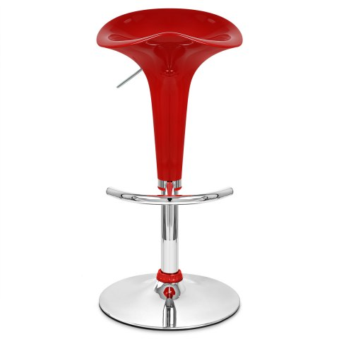 Gloss Coco Bar Stool Red