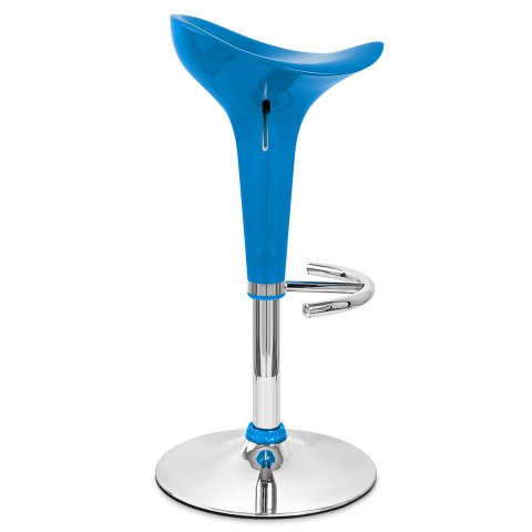 Gloss Coco Bar Stool Blue