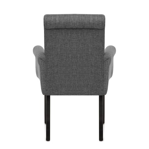 Packwood Dining Chair Grey Fabric