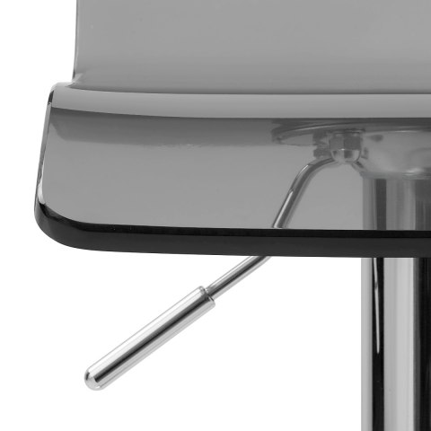 Shimmer Translucent Stool Smoked