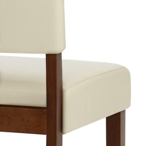 sydney walnut bar stool cream atlantic shopping