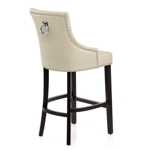 Ascot Bar Stool Cream Leather