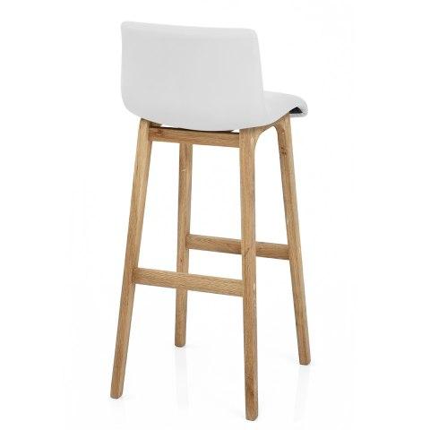 wave bar stool white atlantic shopping. Black Bedroom Furniture Sets. Home Design Ideas