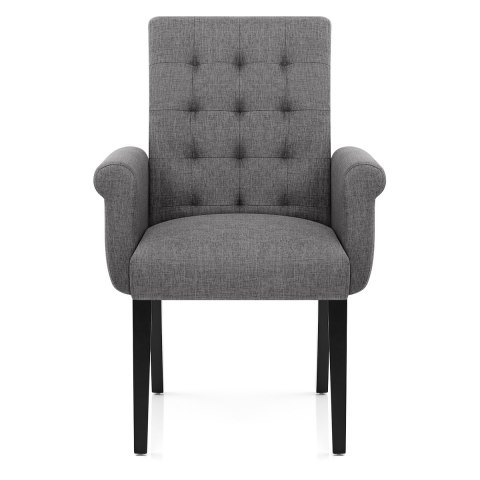 packwood dining chair grey fabric atlantic shopping