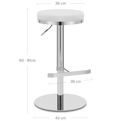 Core Bar Stool White