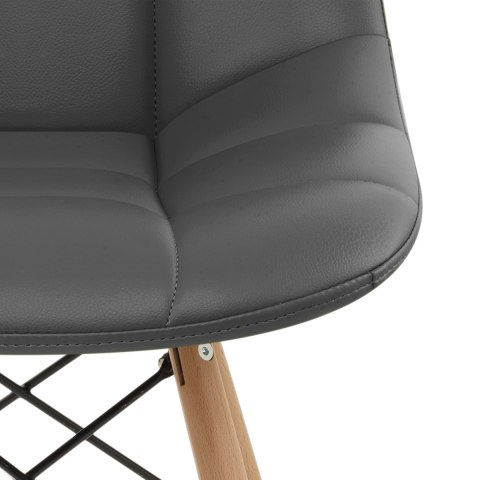 Moda Wooden Chair Grey
