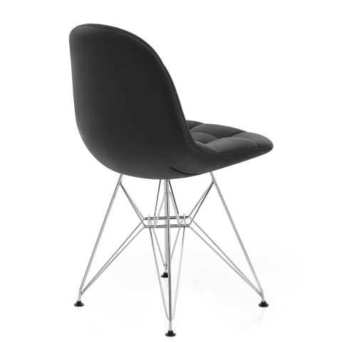 Moda Chrome Chair Black