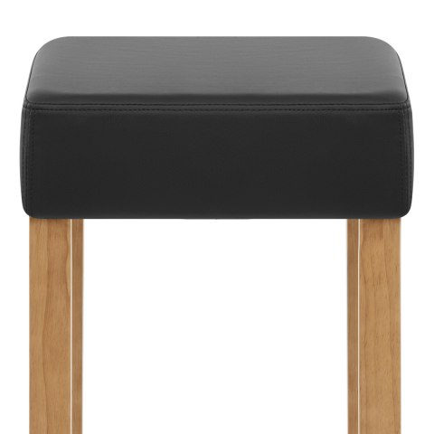 Oliver Oak Bar Stool Black