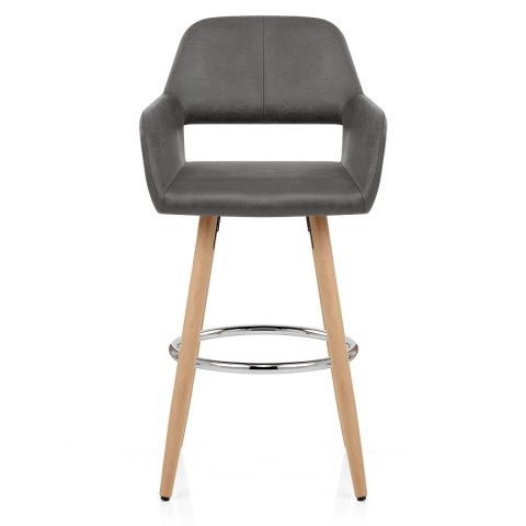 Kite Wooden Stool Grey