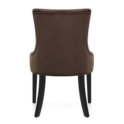 newbury dining chair brown velvet atlantic shopping