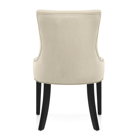 Newbury Dining Chair Cream Velvet