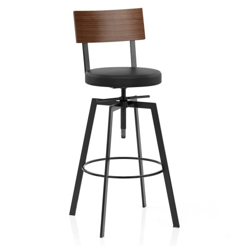 stool swivel top height dp best metal com amazon design industrial products choice vintage wood bar adjustable