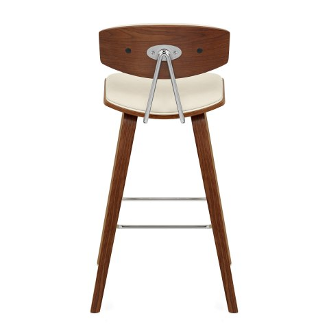 Henley Walnut Stool Cream